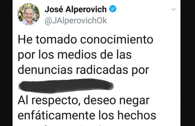 josealperovich denuncia