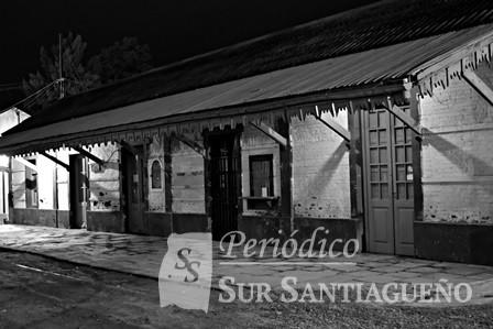 Vieja estación de Bandera