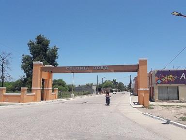 Colonia Dora entrada
