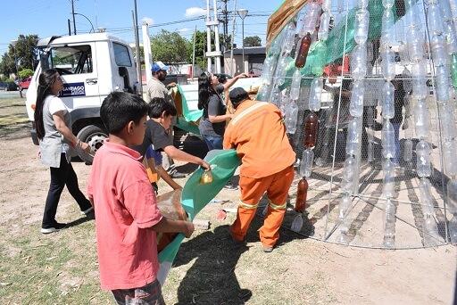 arboles reciclados
