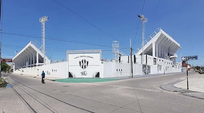 Central Cordoba estadio afuera