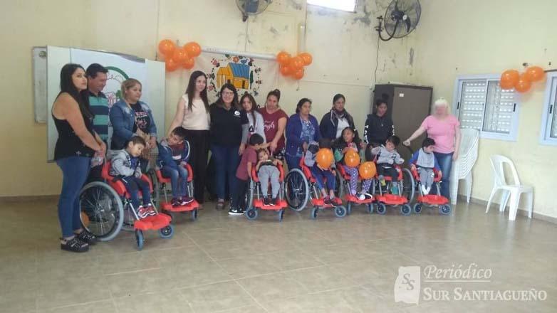 silla ruedas niños