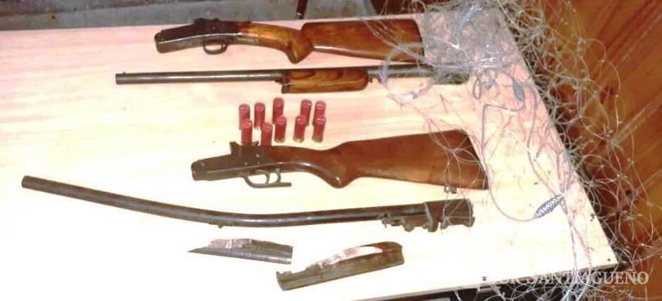 secuestro armas