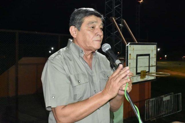 Luis González, intendente de Tintina.