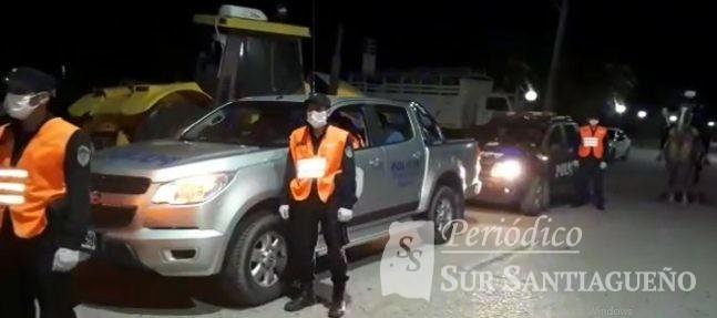 operativo policial añatuya