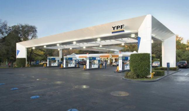estacion ypf vacias