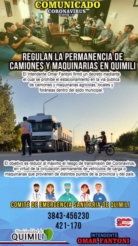 quimili camiones