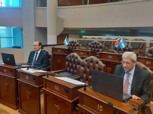 foto Neder y Montenegro desde la Legislatura Provincial