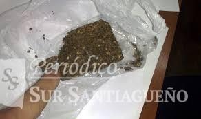 piedra de marihuana
