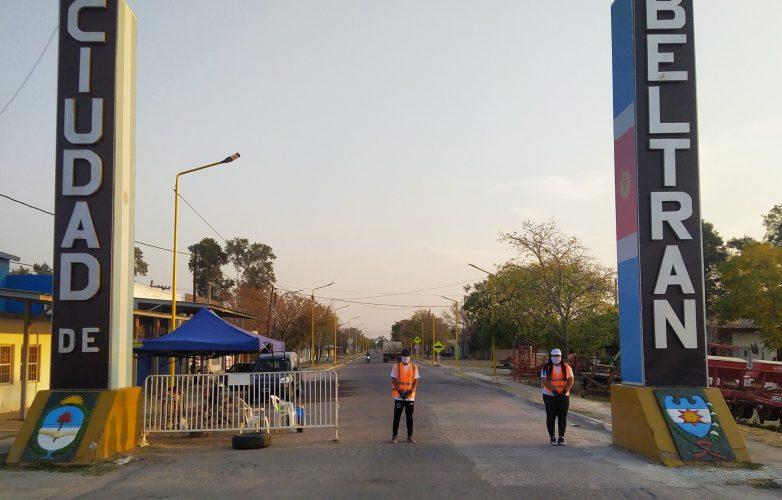 Beltrán entrada ciudad