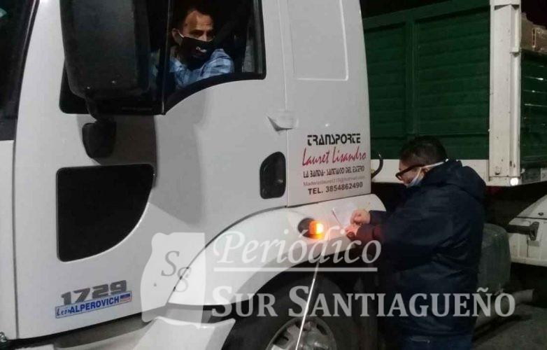 controles camiones muni