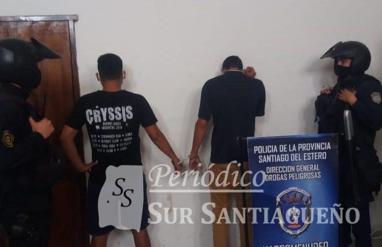 Cristian Otrera y Samuel Soria