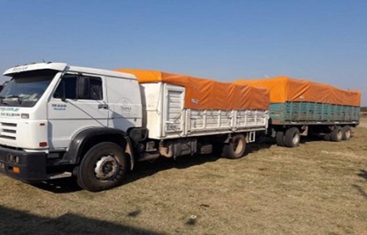 camion maiz