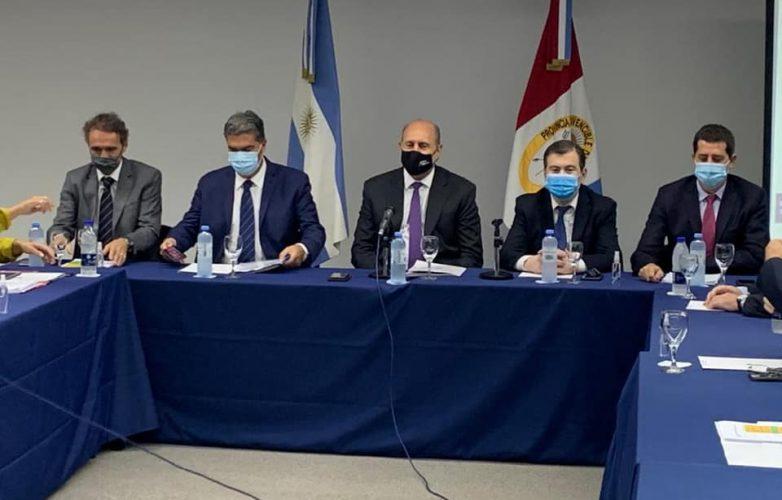Zamora con gobernadores