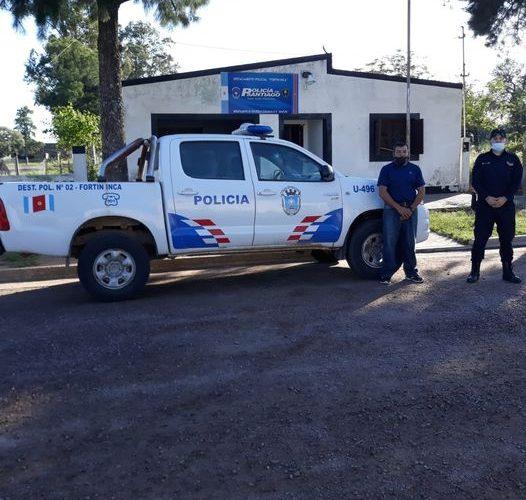 camioneta policial movil