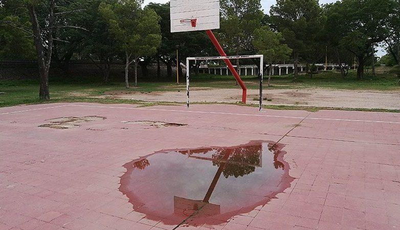 cancha basquet