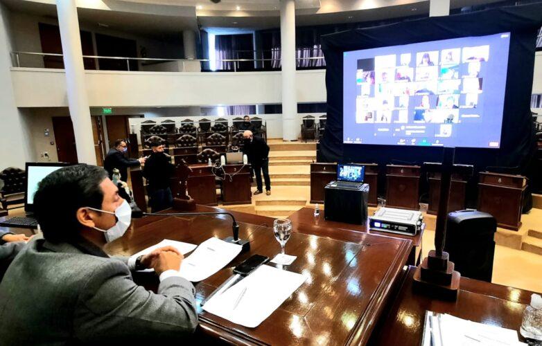 Legislatura diputados sesión