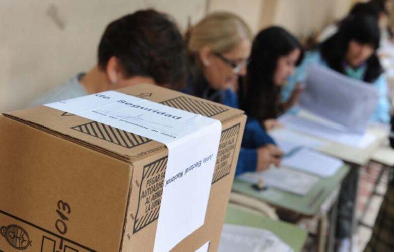 voto mesa elección
