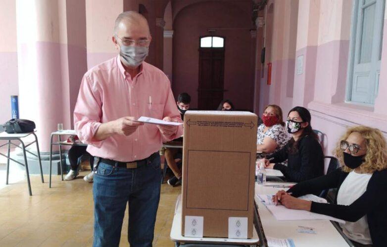 Lugones voto
